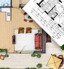 Cursus overzicht en aanbod perspectief tekenen interieur for Cursus interieur tekenen